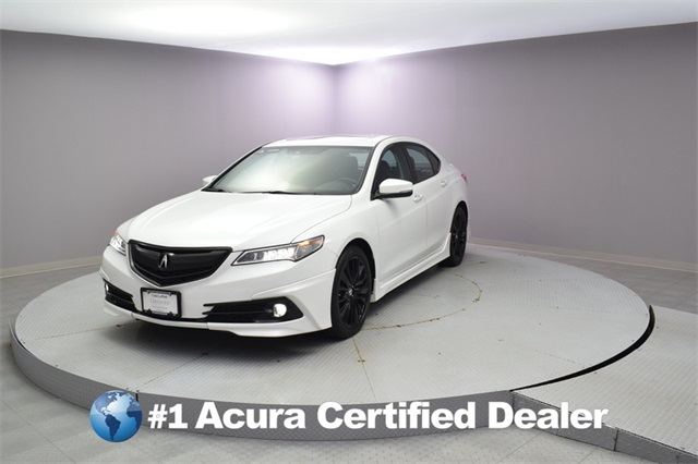 Acura Certified Pre-Owned >> Certified Pre Owned 2017 Acura Tlx 3 5 V 6 9 At Sh Awd With