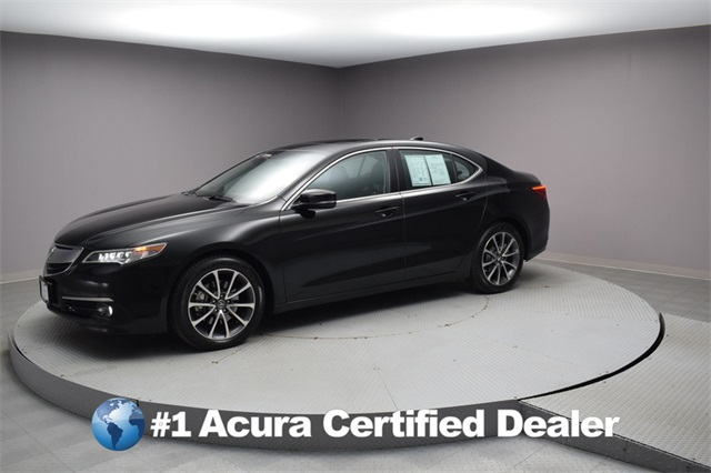 Pre Owned 2017 Acura Tlx Sh Awd W Advance Package 4d Sedan In Woodside U23524 Paragon