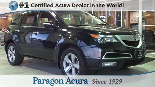 Pre-Owned 2011 Acura MDX
