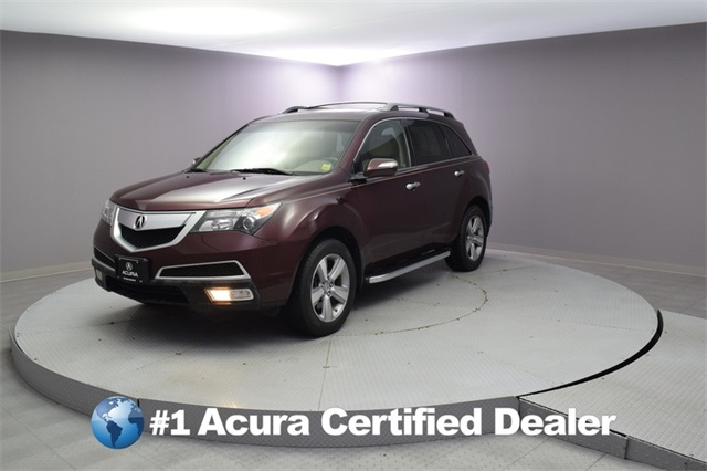 Pre-Owned 2012 Acura MDX Tech Pkg