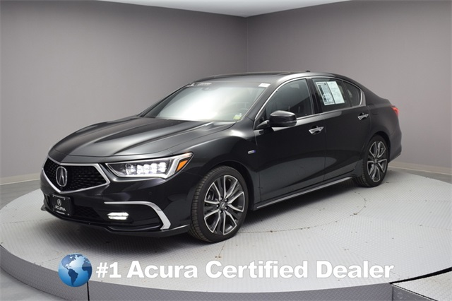 Pre Owned 2018 Acura Rlx Sport Hybrid W Advance Package