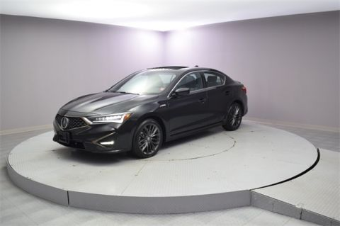 Certified Pre-Owned 2019 Acura ILX with Technology and A-Spec Packages