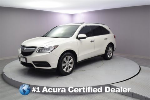 Certified Pre Owned 2016 Acura Mdx Sh Awd With Advance Package