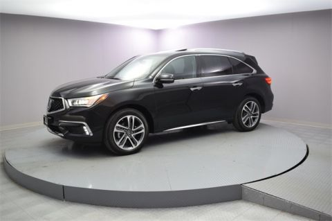 Certified Pre-Owned 2018 Acura MDX SH-AWD with Advance and Entertainment Packages